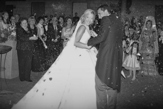 fotos de boda blanco y negro