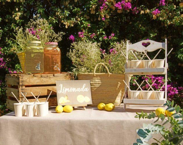 limonada para invitados boda