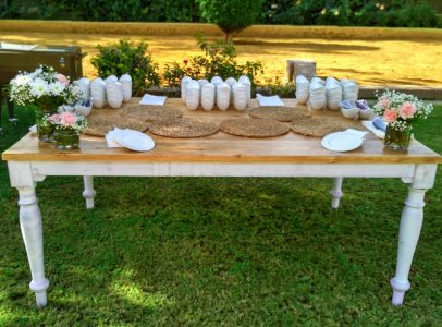 mesa de arroces boda