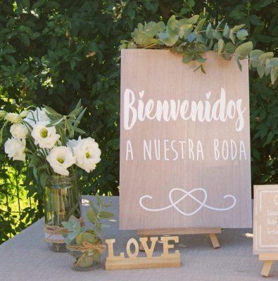 ideas para decoracion boda bienvenida